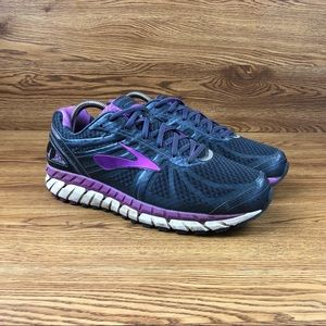 Brooks Ariel 16 Pink Athletic Walking Shoes